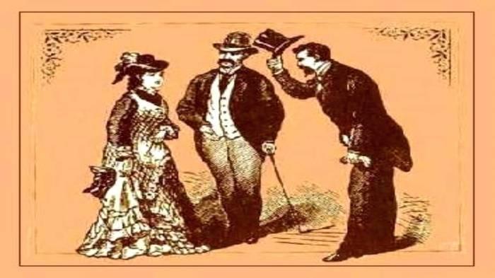 salutul in epoca victoriana