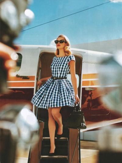 eleganta in avion