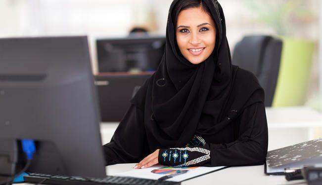 femeie de afaceri in tarile arabe