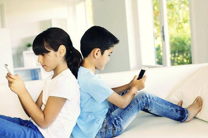 Copii si smartphone