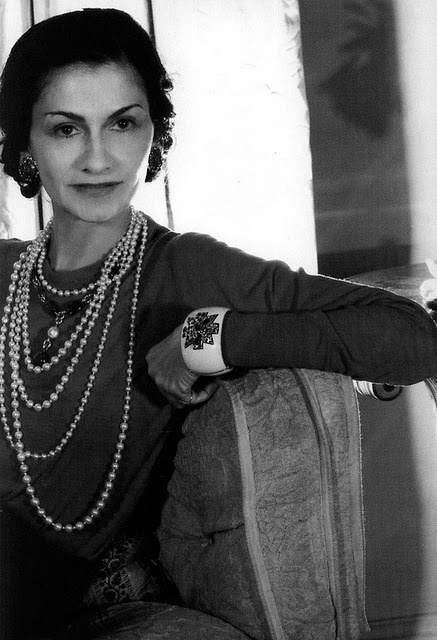 Coco Chanel - note the Verdura cuff, one of a pair.