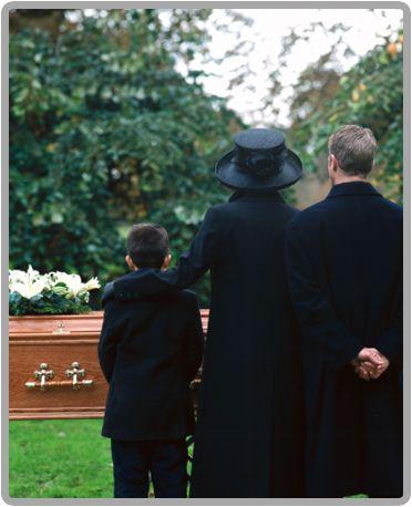 înmormântare