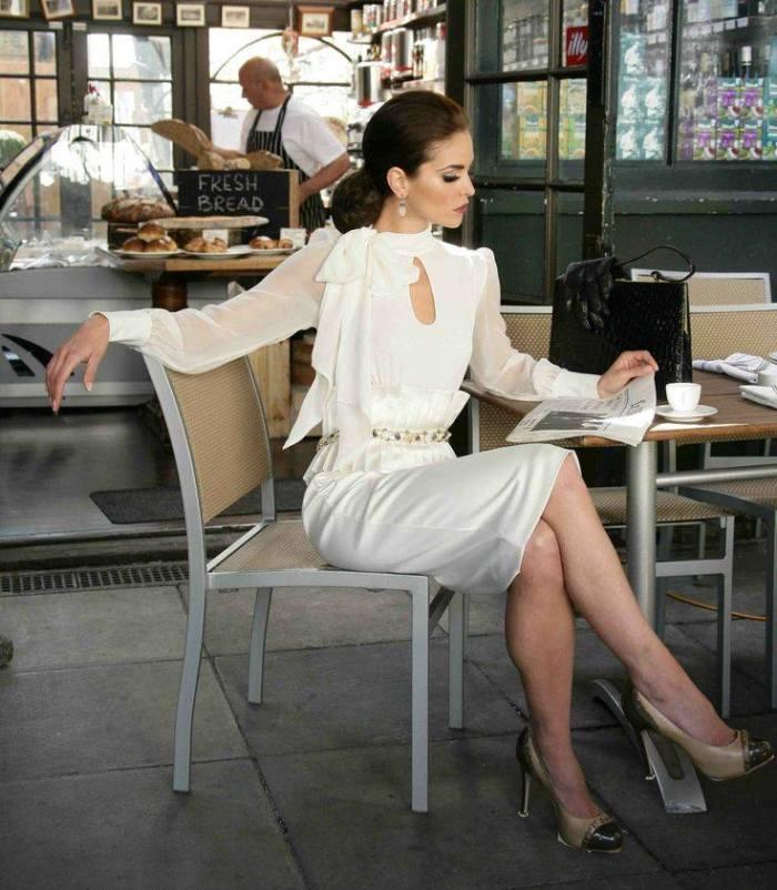 eleganța in alb