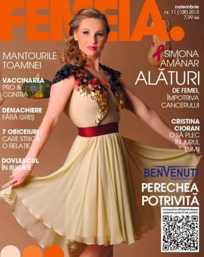 Revista Femeia. Noiembrie 2015