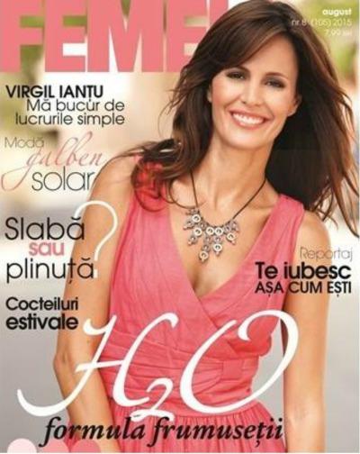 revista Femeia. August 2015
