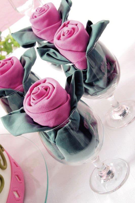servet trandafir